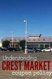crest foods coupons understanding crest foods coupon policy