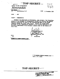cover letter for cia cuban missile crisis the black vault