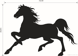 hot caved running horse remove wall stickers quotes wall decals hot caved running horse remove wall stickers quotes wall decals