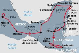 Oaxaca Mexico Map Mexico Tours Travel U0026 Trips Peregrine Adventures De