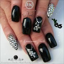cute nail designs for black nails choice image nail art designs