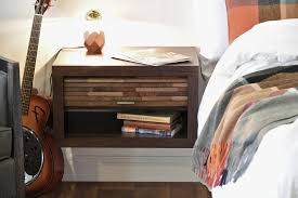 Floating Nightstand With Drawer Wall Mount Hidden Storage Floating Nightstands Eco Geo Espresso