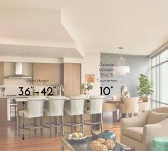 standard kitchen island size kitchen bar height go to heights with these 7 barheight