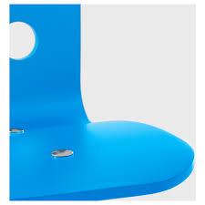 jules children u0027s desk chair blue white ikea