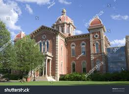 historic city hall building hastings minnesota stock photo