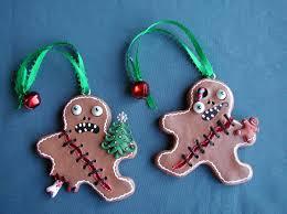gingerbread handmade handpainted creepy by creepystuff