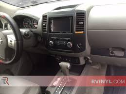 nissan frontier vinyl graphics nissan frontier 2009 2014 dash kits diy dash trim kit
