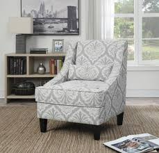 Grey Yellow Chair Upholstered Yellow And Grey Accent Chair Picture 21 Chair Design