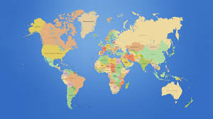 New Zealand On A World Map by 6th Period Thinglink