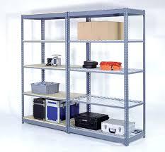 Storage Bookshelves With Baskets by Heavy Duty Metal Steel Rack Garage Home Storage 3 Shelve Shelf