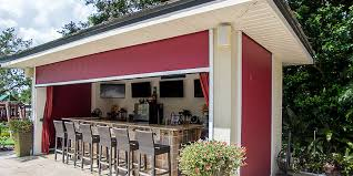 Orlando Awnings Vinyl Patio Enclosure Roll Up Orlando Fl New Horizons