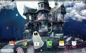 halloween horizontal background halloween live wallpaper android apps on google play
