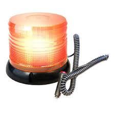 magnetic base strobe light hqrp 12v amber emergency hazard warning magnetic base beacon led