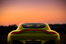 orange aston martin aston martin v8 vantage 2018 unveiled fortune
