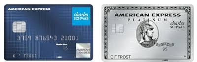american express platinum card for schwab