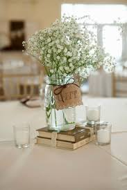 jar wedding centerpieces country wedding centerpieces jars wedding party decoration