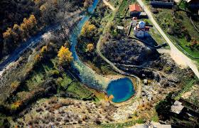 150 meters in feet the source of the cetina river in croatia unusual places
