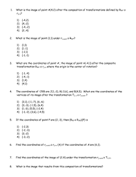 composition of transformations worksheet betterlesson