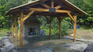 covered patio with fireplace fireplace in covered patio stone age landscaping