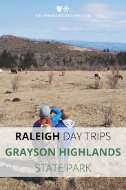 Grayson Highlands State Park Map raleigh day trips grayson highlands state park u2013 tulip and snowflake