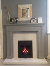 the bossart firesurround in farrowandball manor house grey can