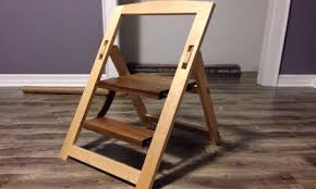 Woodworking Projects Pdf Free by Folding Step Stool Plans Folding Wood Step Ladder Plans Folding