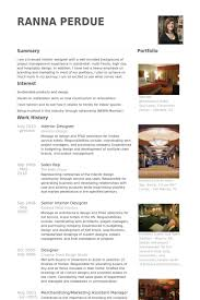 interior designer resume samples visualcv resume samples database