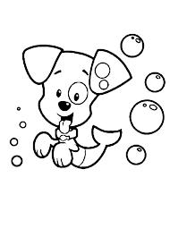 bubble puppy bubble guppies coloring coloring sun