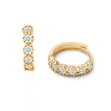 s gold earrings 14k gold earrings for children babies tinyblessings