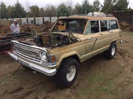 1966 jeep gladiator 1972 wagoneer needed rescuing full size jeep network