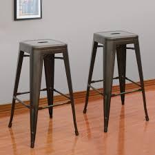 Wooden Breakfast Bar Stool Furniture Tolix Bar Stool High Quality Models Wide Back Barstool
