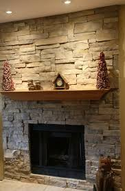 Stacked Stone Outdoor Fireplace - stacked stone outdoor fireplaces home design ideas