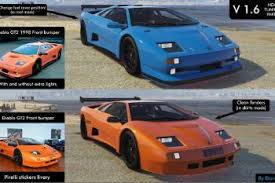 lamborghini diablo gtr lamborghini diablo gtr add on tuning template gta5 mods com