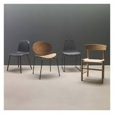 Leather Dining Chair Bacco Black Leather Dining Chair With Oak Legs Buy Now At Habitat Uk
