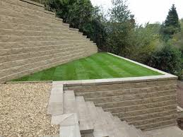 amazing garden walling systems concrete blocks sound insulation
