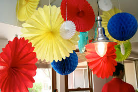How To Make Birthday Decorations At Home Birthday Decoration At Inexpensive Neabux Com