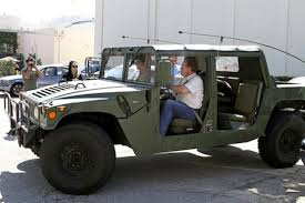 jeep humvee schwarzenegger u0027s car collection large and in charge