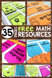 35 pages of free math notebook resources for 1st and 2nd grade