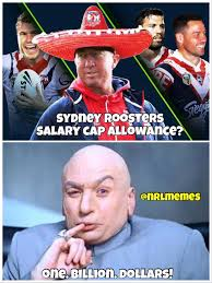Cap Memes - nrl memes when someone asks how big the sydney roosters facebook