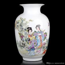 Vase Sets Jingdezhen Ceramics Had Tabletop The Vase Wax Gourd Bottle