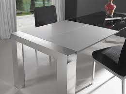 extendable glass top modern furniture table set modern dining