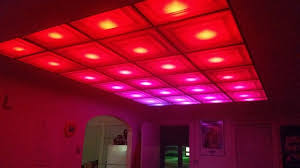 Painting Drop Ceiling by How To Turn Your Room Into A Nightclub With A Diy Led Ceiling