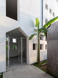nguyen khac phuoc architects completes four metre wide townhouse