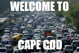 Traffic Meme - traffic jam welcome to cape cod weknowmemes