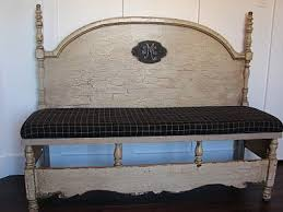 Bench Made From Bed Headboard 39 Best Benches Images On Pinterest Reuse Furniture And