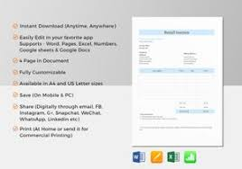 invoice templates in word excel apple pages u0026 numbers google