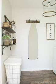 Laundry Room Wall Decor Ideas Rustic Industrial Laundry Room Reveal Rustic Industrial