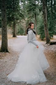 wedding dress sweaters 5 different ways to style your wedding dress to a wintery theme