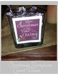 just sweet and simple christmas scripture advent calendar and