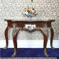 Mahogany Console Table Luxury French Antique Reproduction Mahogany Console Table